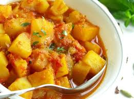 Mammys Veg and Potato Curry